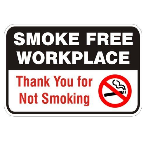 Smoke Free Workplace Sign