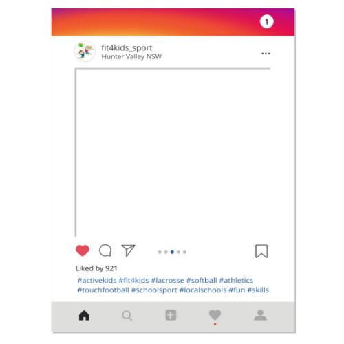Instagram Selfie Frame