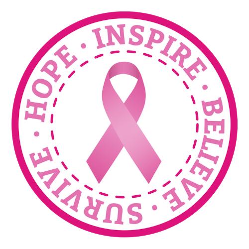 breast cancer awareness sticker
