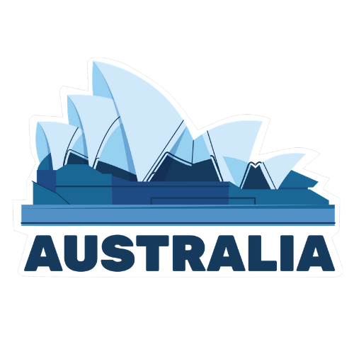 Opera House Australia Window Sticker