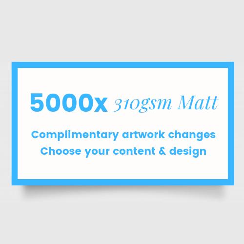 matt business cards