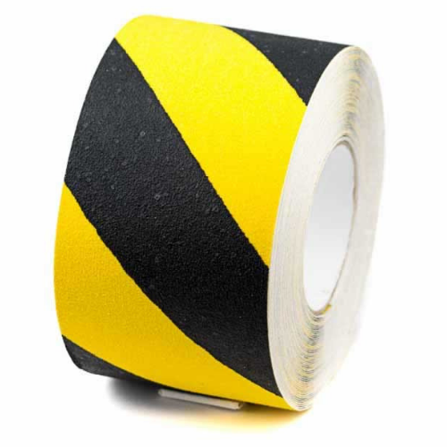 Self Adhesive Anti-slip Tape Yellow/Black 1x18.3m