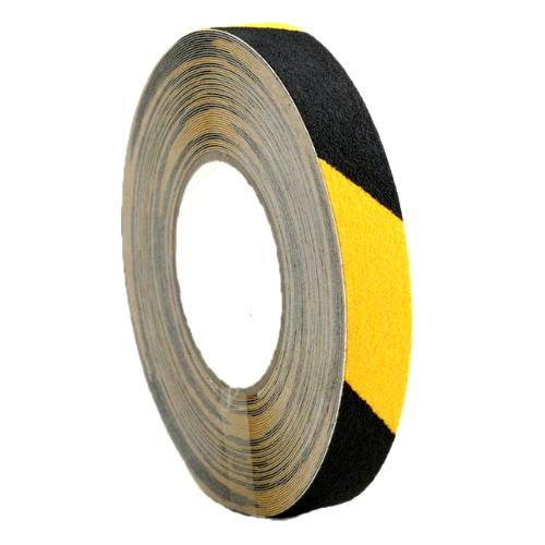 25mm x 18.3m Self Adhesive Anti-slip Tape Yellow/Black