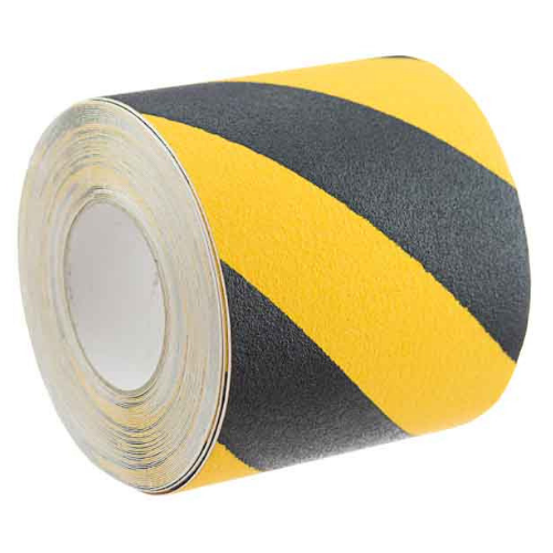 Self Adhesive Anti-slip Tape Yellow/Black 150mmx18.3m