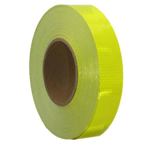 Class 1 Ultra High Intensity Reflective Fluoro Yellow Tape