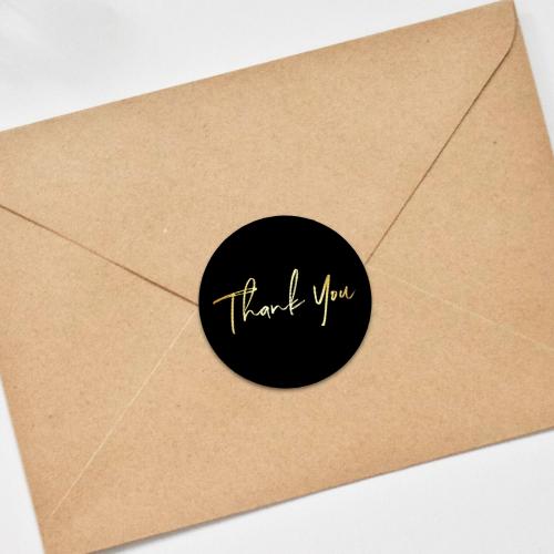 thank you envelope seal