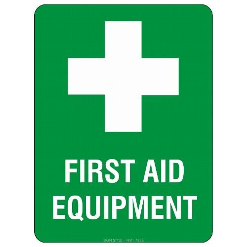 First Aid Equipment Sign