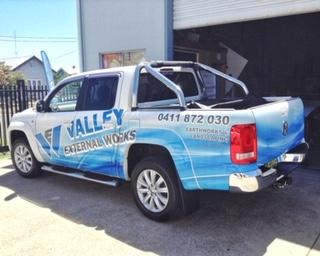 Hunter Valley Ute Signs